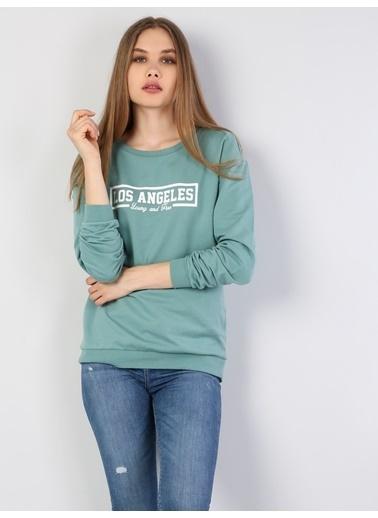 Colin's Sweatshirt Turkuaz
